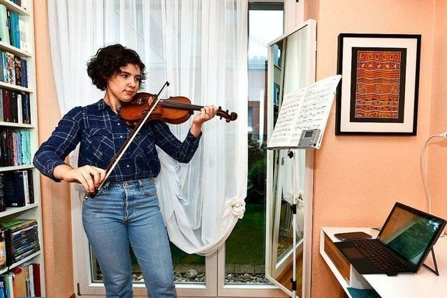 2000 Schüler der Musikschule Freiburg werden virtuell unterrichtet