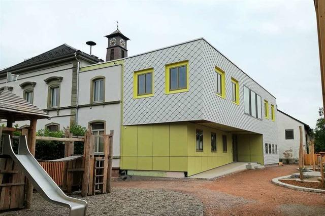 Die Kita Alte Schule in Haagen wird planmäßig fertig