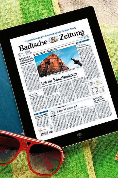 Wer sein BZ-Abo im Urlaub spendet, kan... Tag BZ-Digital Premium gratis nutzen.  | Foto: Badische Zeitung