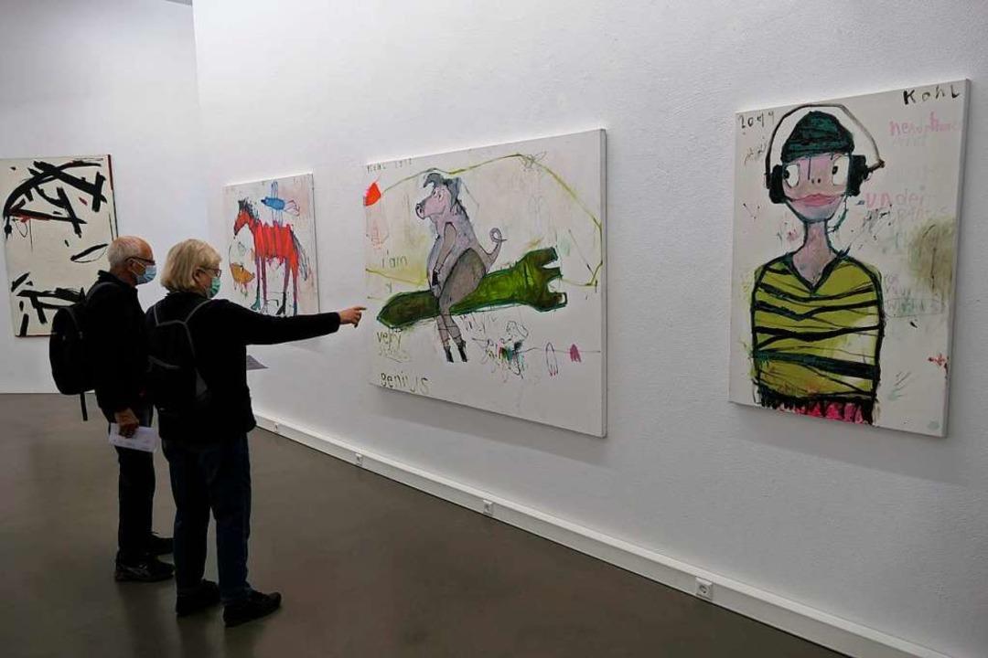 "Neue Erfahrung der Kunstrezeption: Aus... Schau: ""Kunstsommer.2020""  | Foto: Hans-Peter Müller"