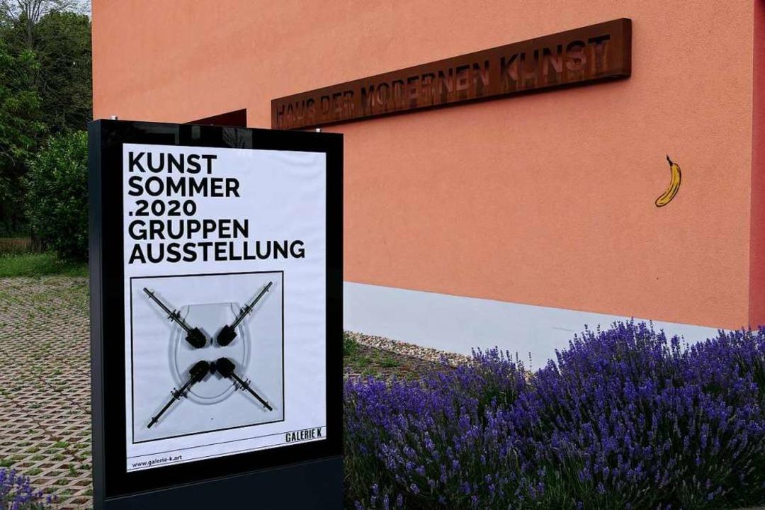 Kunstsommer.2020 in der Galerie K im H...en Kunst im Staufener Ortsteil Grunern  | Foto: Hans-Peter Müller