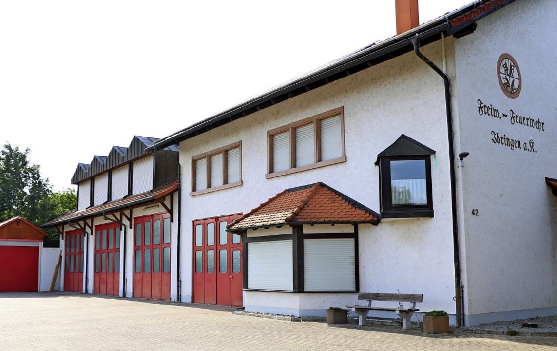 Auch wenn die Ihringer Feuerwehr in de...euerwehrhaus öfters leer als gewohnt.   | Foto: Claudia Müller