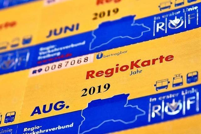 Regio-Karten werden erst im Januar teurer – nicht schon im August