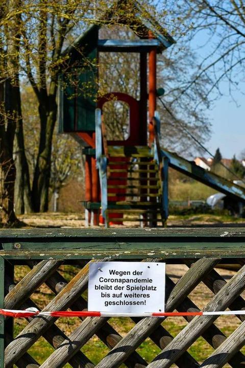Eine der Einschränkungen wegen des neuen Virus  | Foto: Mike Bender