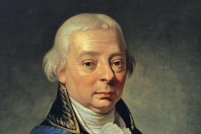 Warum Großherzog Karl Friedrich von Baden der Schützer der Badruine war