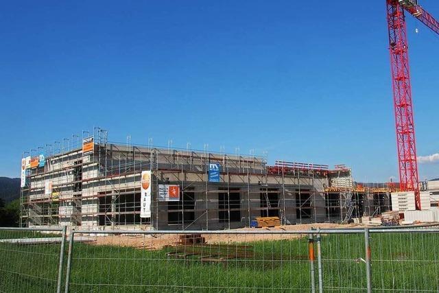 Testo-Neubau in Kirchzarten wächst in die Höhe