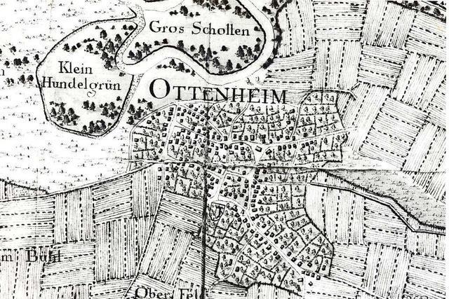So hat sich die Besiedlung von Ottenheim entwickelt