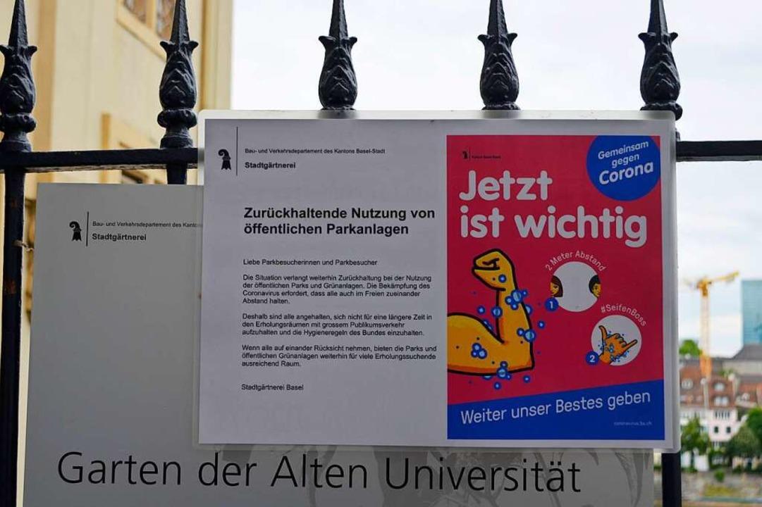 In Basel wird stark auf die Vernunft der Menschen gesetzt.  | Foto: Savera Kang