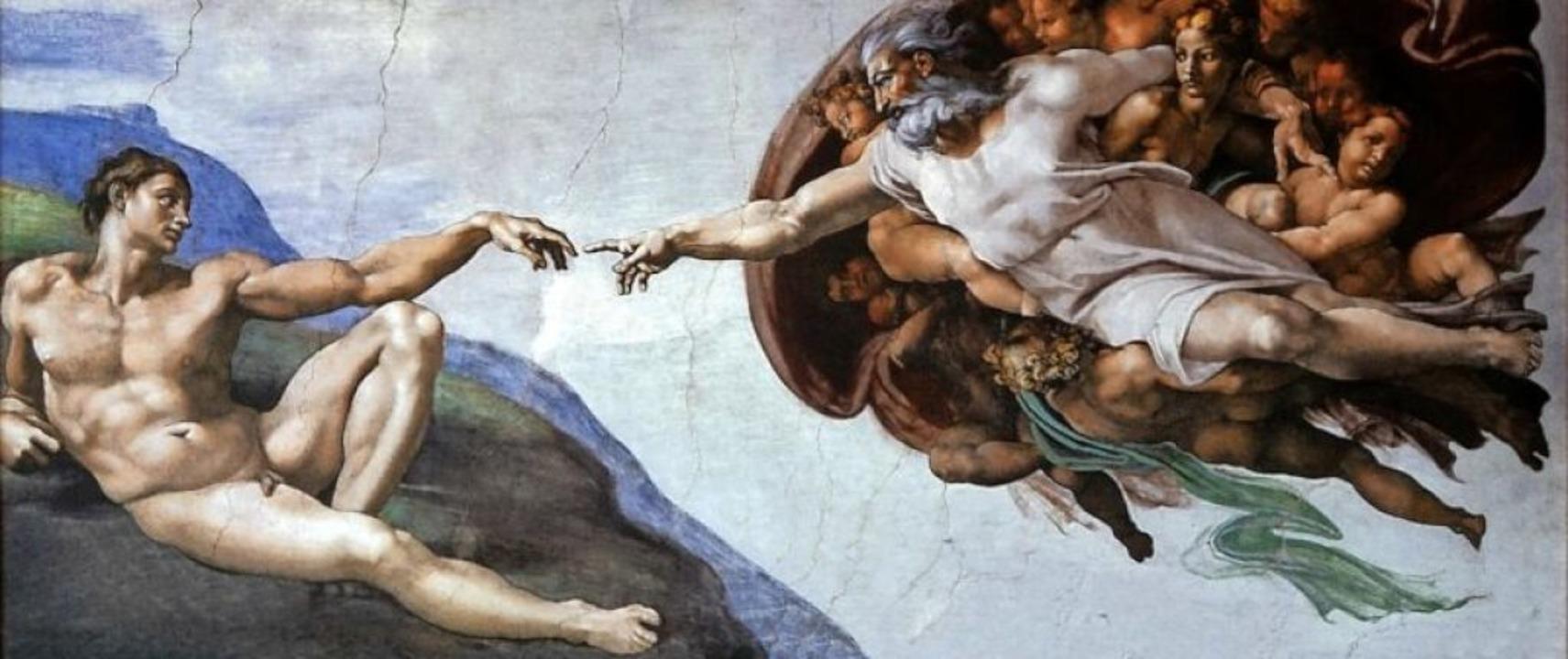 "Michelangelo: ""Adams Erschaffung...Sixtinischen Kapelle im Vatikan in Rom  | Foto:  agcreativelab (stock.acobe.com)"