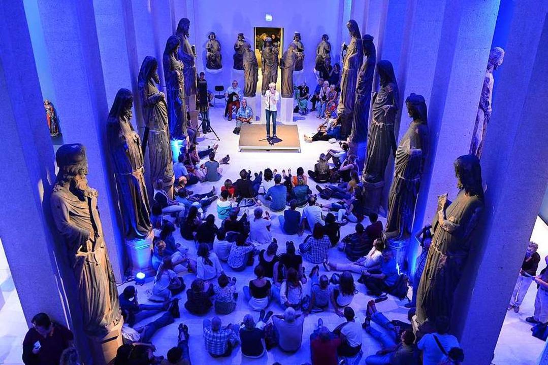 Museumsnacht in der Skulpturenhalle de...ebnis schon via Computer? (Archivbild)  | Foto: Rita Eggstein
