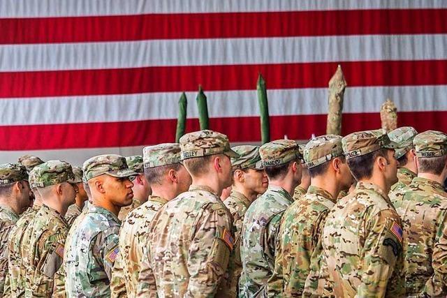 Bundesregierung über Pläne für Abzug von US-Soldaten informiert
