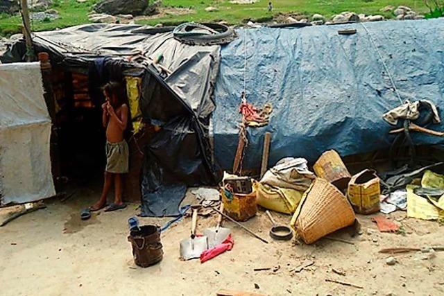 Hunger verstärkt die Not der Menschen in Nepal