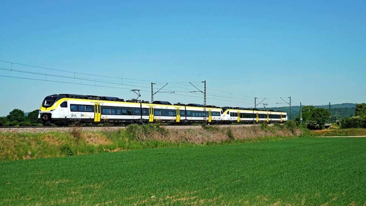 Der neue  Mireo-Zug ist 25 Prozent lei... die bisher üblichen Doppelstockwagen.  | Foto: Heinz Göttlich