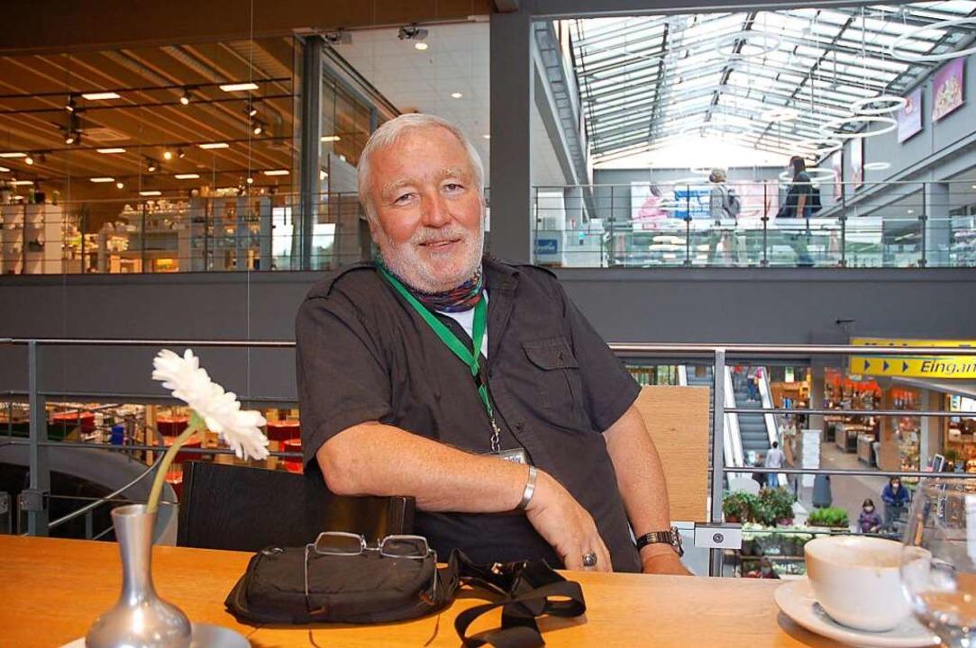 William Winter, Sicherheitsmann in der Arena in Lahr  | Foto: Wolfgang Beck