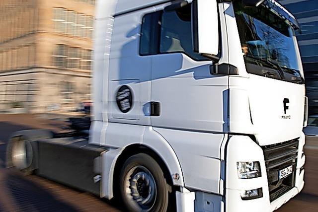 Emissionen des Güterverkehrs ließen sich auf null drücken