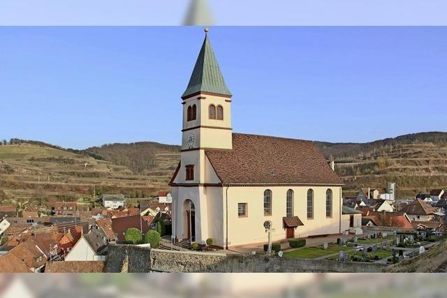 Die Kirche ist gesichert