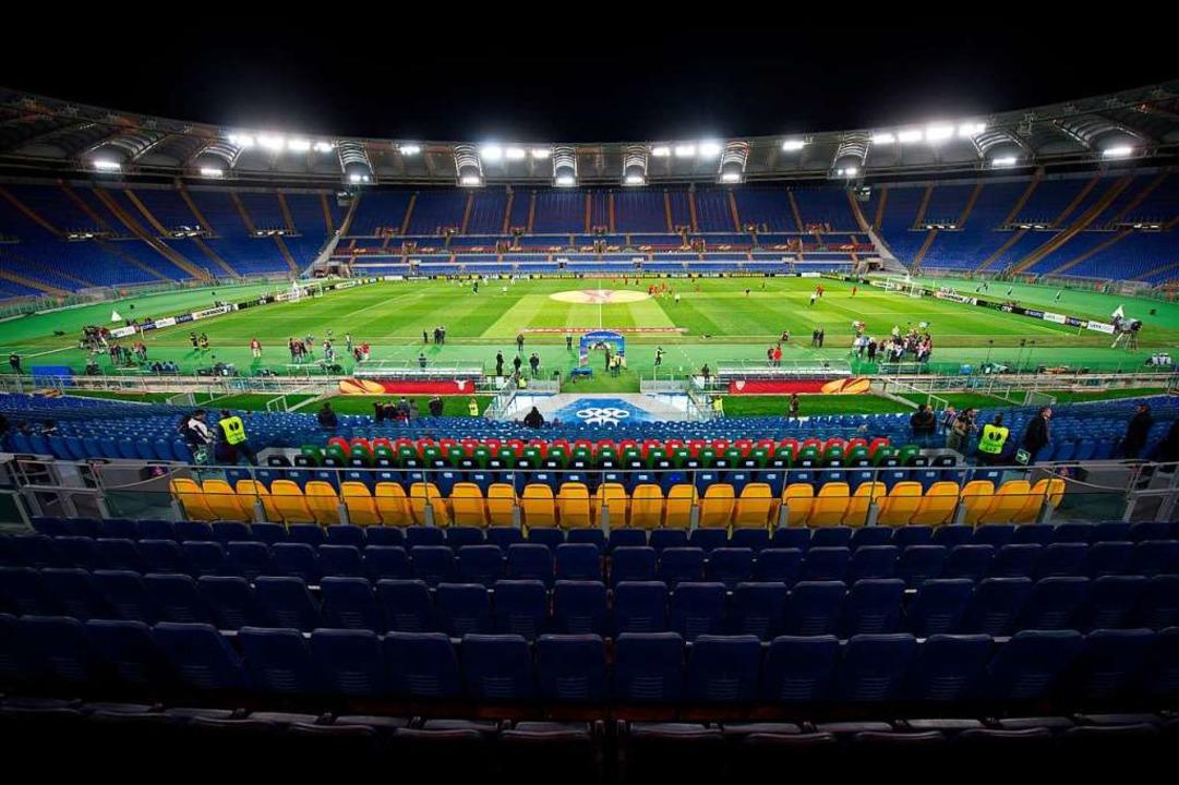 Schauplatz für Fußball-Geschichte: Im ...piel der EM ausgetragen werden sollen.  | Foto: Marijan Murat