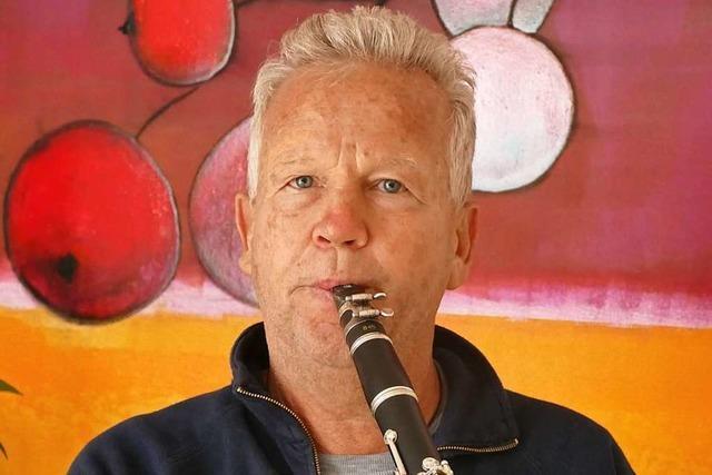 Jürgen Hässler ist Veranstaltungsmanager im Pflegeheim Markgräflerland