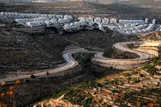 Gegen Israels Annexionspläne regt sich Widerspruch