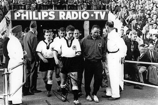 Trauer um den ehemaligen Fußballnationalspieler Hans