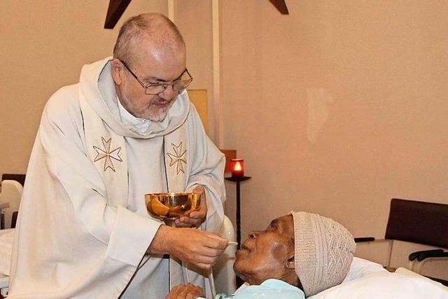 Pater kann von Südafrika nicht nach Schwörstadt reisen