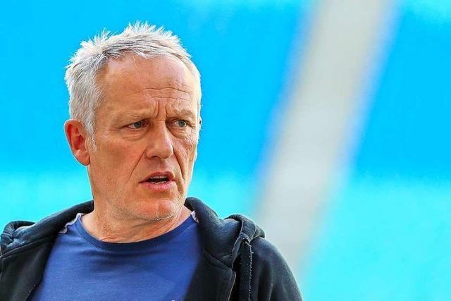 Trainer Streich verlängert seinen Vertrag beim SC Freiburg