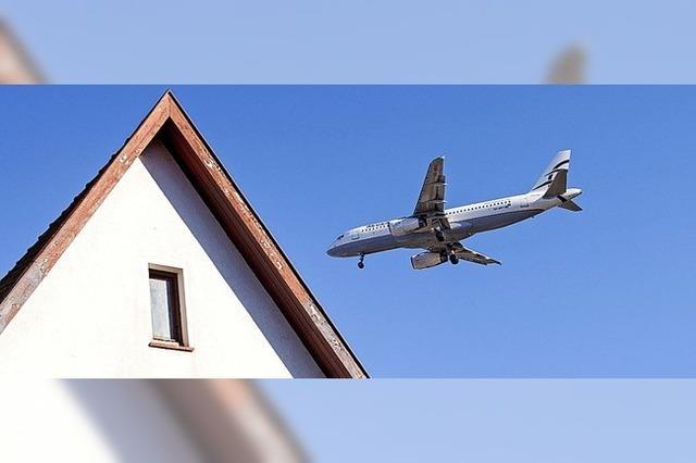 Fluglärm soll merklich abnehmen