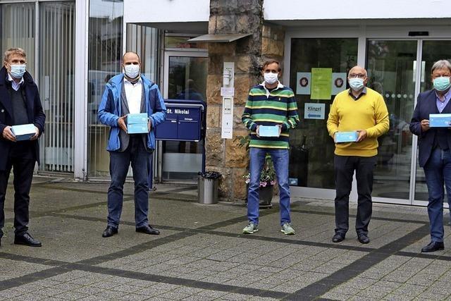 2000 Schutzmasken übergeben