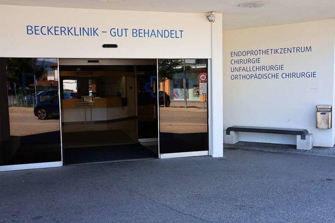 Die Beckerklinik, ein 30-Betten-Haus im Herzen von Bad Krozingen  | Foto: Hans-Peter Müller