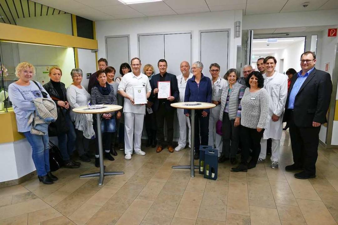 Feier zur Zertifizierung als Endoprotheik-Zentrum  | Foto: Hans-Peter Müller