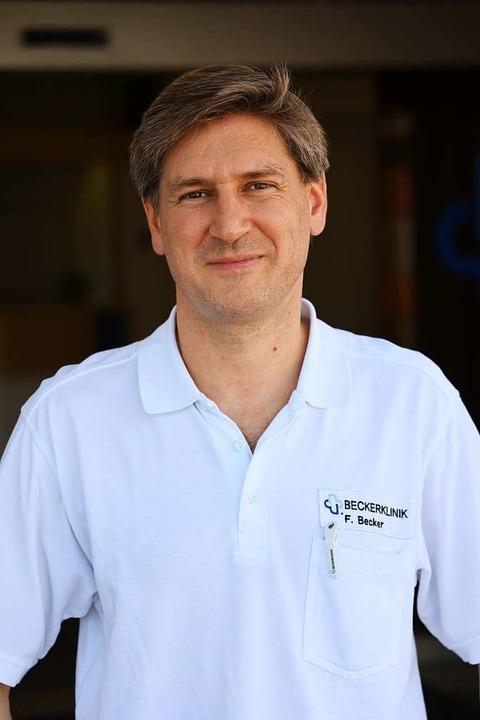 Frank Becker, einer der beiden geschäftsführenden Gesellschafter  | Foto: Hans-Peter Müller