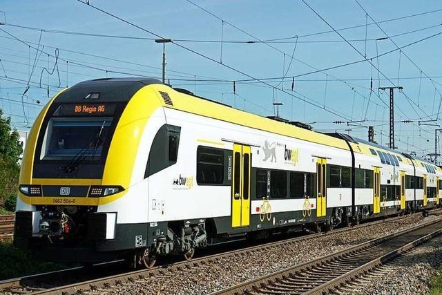 Breisgau-S-Bahn setzt Doppelstockzüge auf Kaiserstuhl-Strecke ein