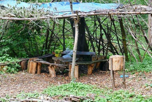 Eine Partylocation im Naturschutzgebiet bei Weil am Rhein gibt Rätsel auf