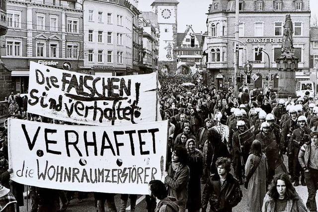 Die Schwarzwaldhof-Besetzung in Freiburg jährt sich zum 40. Mal