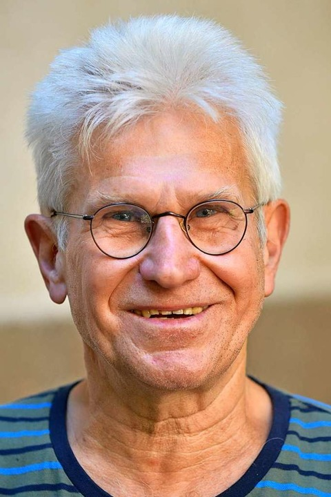 Heinz Auweder, 70, war Buchhändler in ...reunde und Nutzer des Schwarzwaldhofs.    Foto: Michael Bamberger
