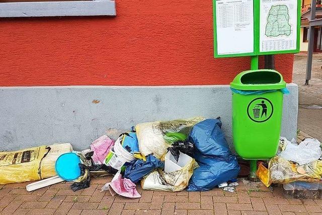 In Friesenheim und Seelbach häufen sich Fälle von Vandalismus und Vermüllung
