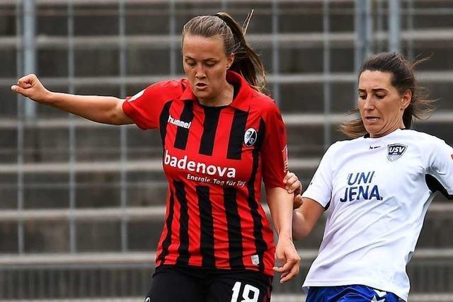 Freiburgs Bundesliga-Spielerinnen stehen vor einer Englischen Woche