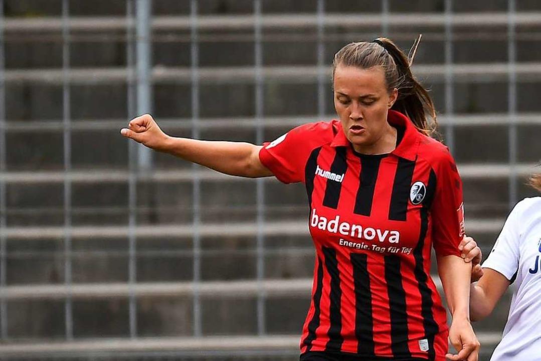 SC-Stürmerin Stefanie Sanders  | Foto: Achim Keller/SCFreiburg/POOL