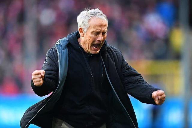 Christian Streich hofft gegen Wolfsburg auf