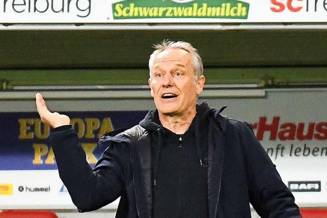 Christian Streich bleibt Trainer des SC Freiburg  | Foto: Achim Keller/SCFreiburg/POOL