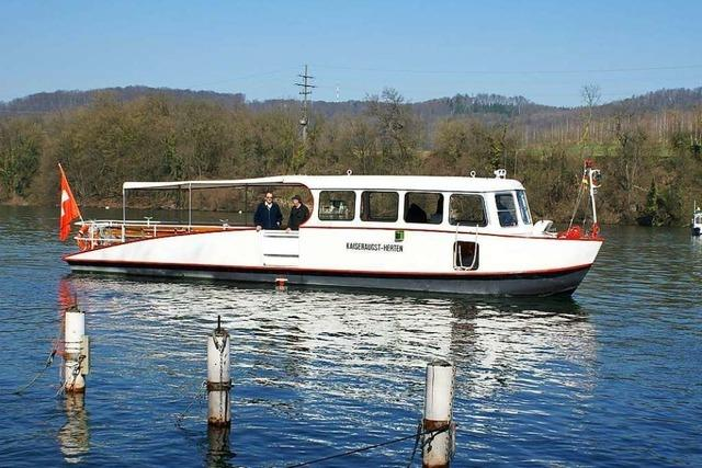Die Rheinfähre nimmt am Dienstag wieder den Betrieb auf