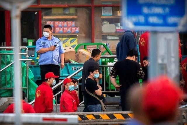 Zweite Welle befürchtet: Corona-Ausbruch auf Großmarkt in Peking