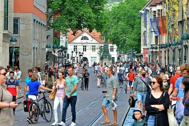 Freiburgs Einzelhändler ziehen eine erste Lockdown-Bilanz