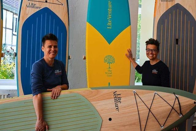 Stand-up-Boards aus Sulzburg wurden mit Design-Preis ausgezeichnet