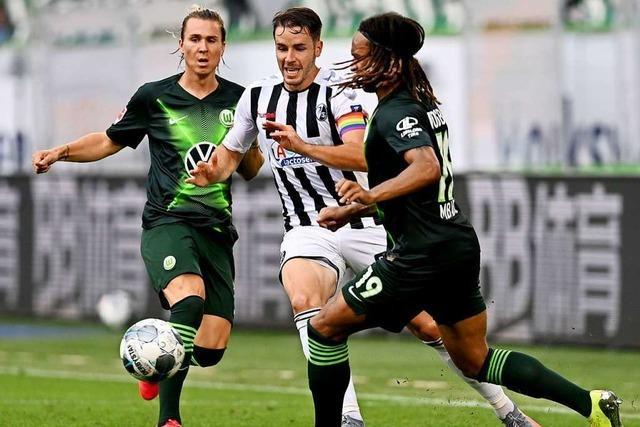 2:2 nach 0:2 – SC Freiburg zeigt Moral und holt Punkt in Wolfsburg