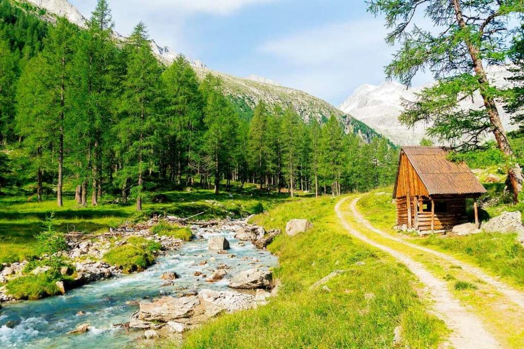 Wandertipp: Unterwegs zur Barmer Hütte im hinteren Defereggental.  | Foto: Philipp Laage (dpa)