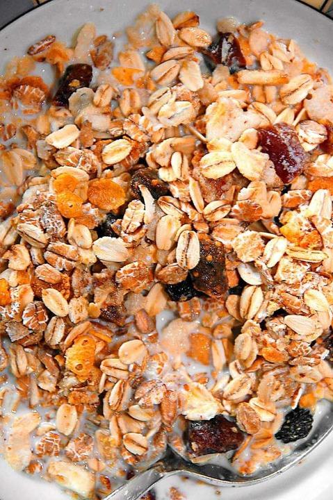 Ein leckeres Müsli – aber bitte ohne Mottenbefall!  | Foto: Sven_Appel
