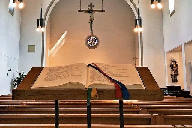 Video: Eucharistiefeier der Katholischen Kirchengemeinde Lörrach-Inzlingen