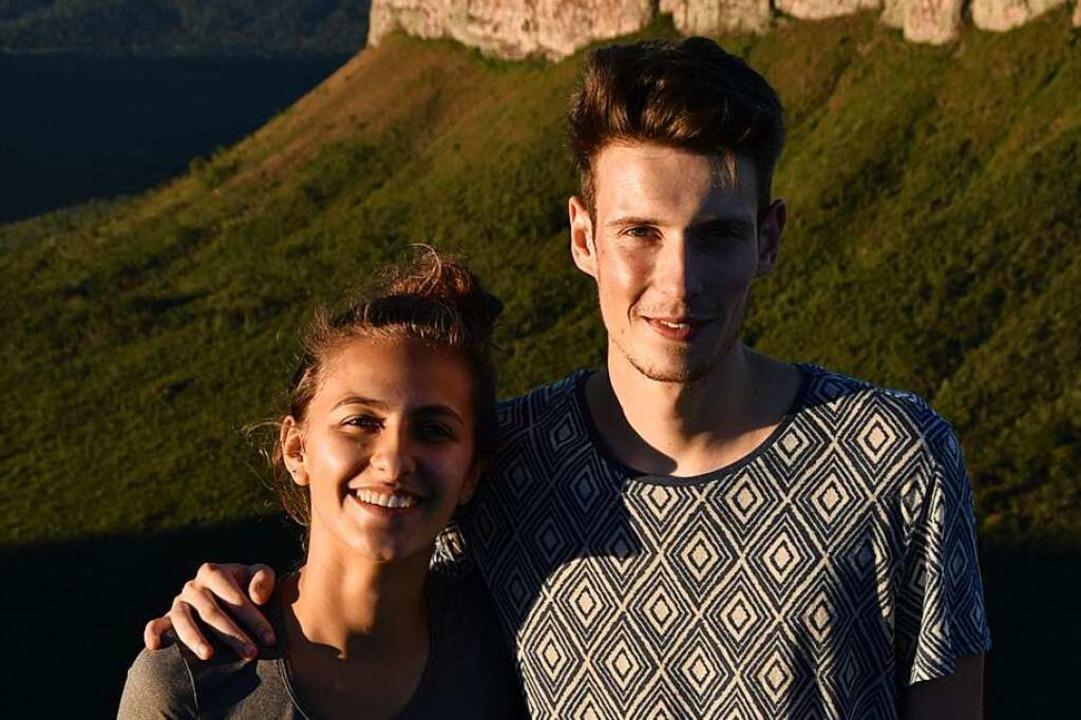 Marina Abraõ und Julien Lecot  | Foto: Raffenbeul