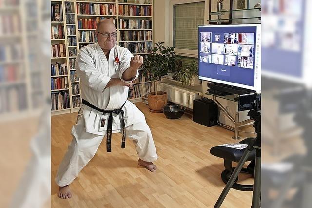 Die Karateka haben Online-Training schätzen gelernt